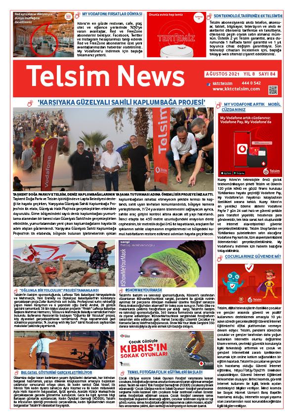 Telsim News Ağustos 2021