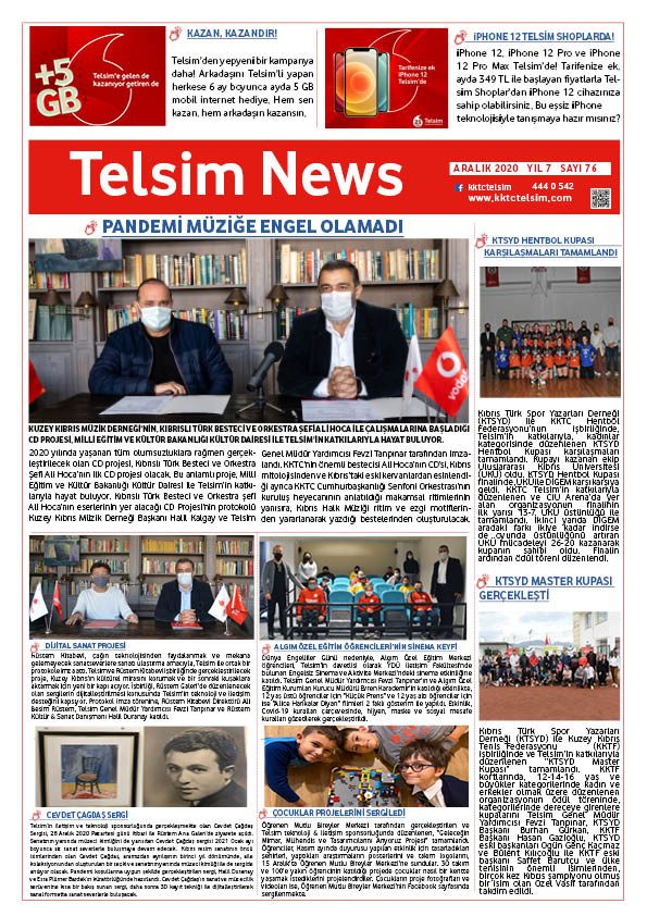 Telsim News Aralık 2020