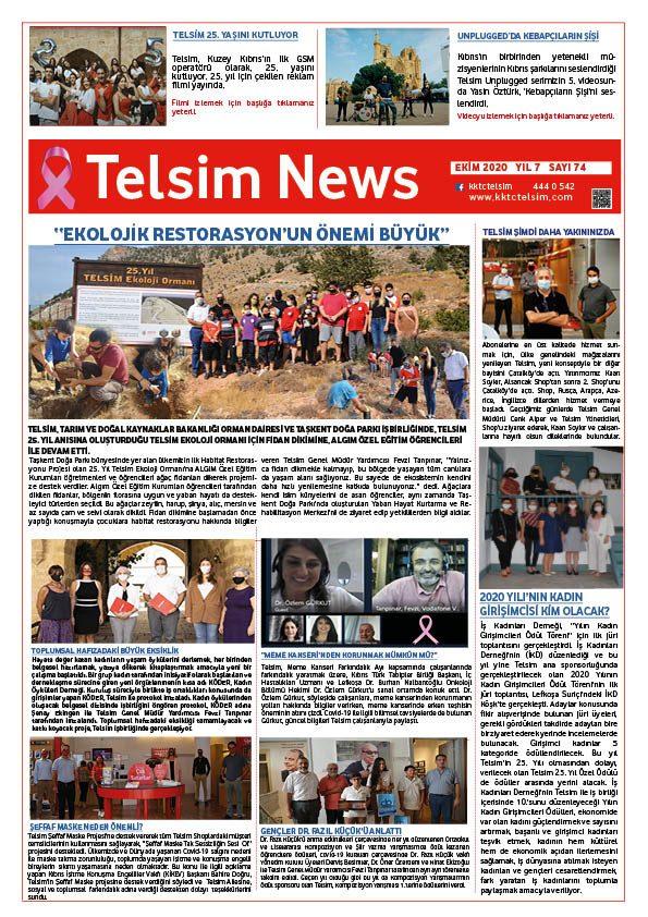 Telsim News Ekim 2020