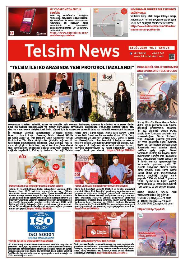 Telsim News Eylül 2020