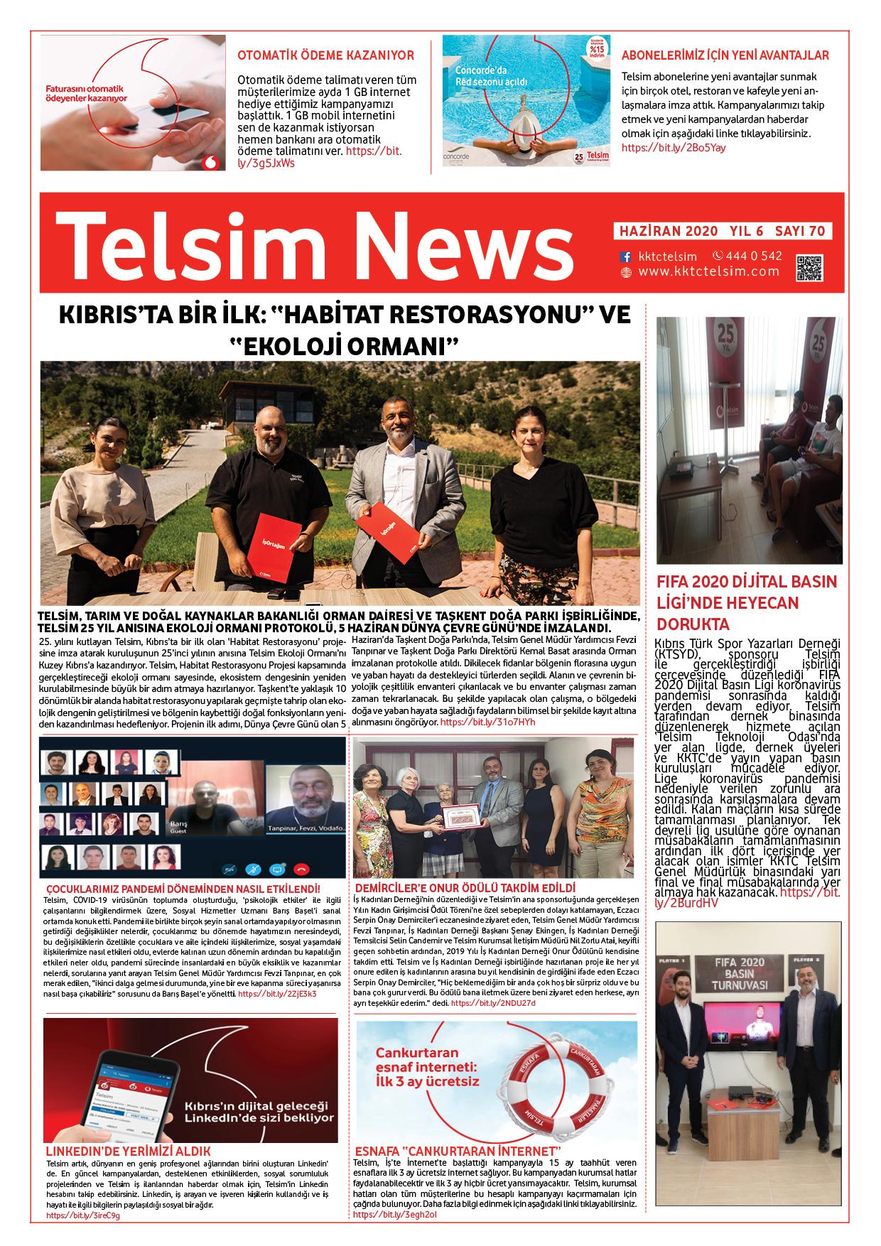 Telsim News Haziran 2020