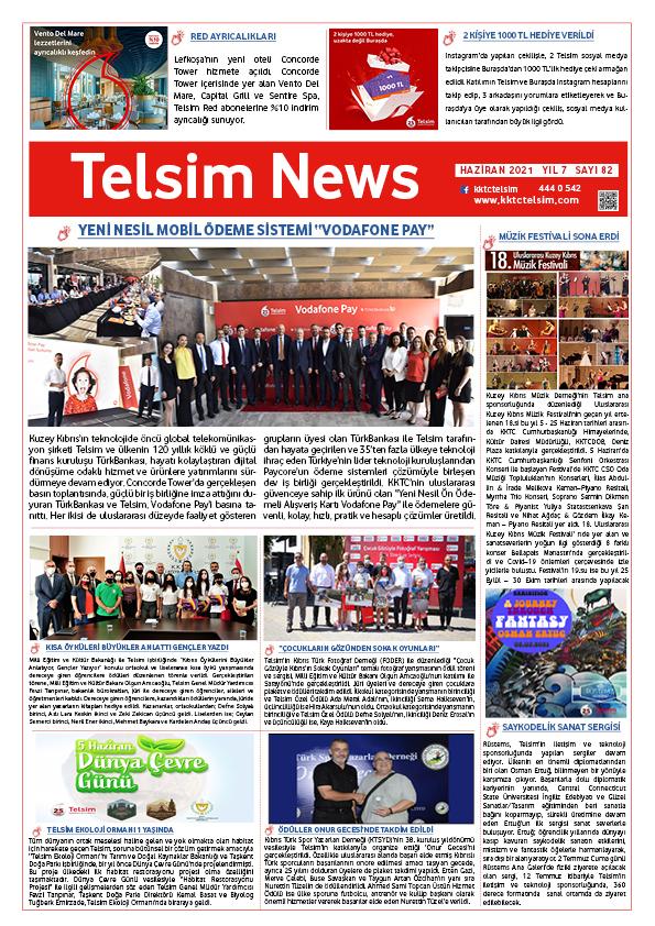 Telsim News Haziran 2021