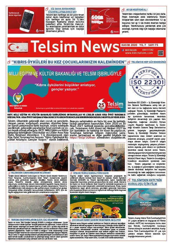 Telsim News Kasım 2020