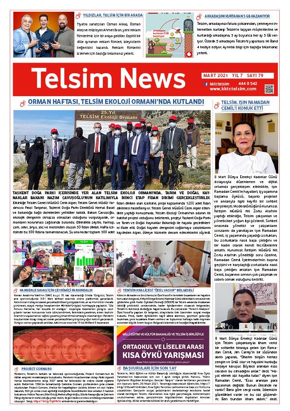 Telsim News Mart 2021