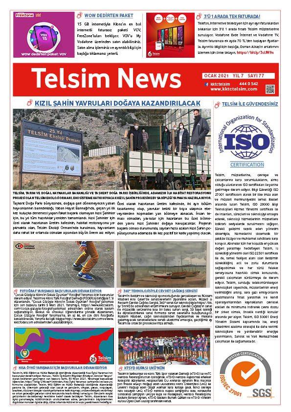 Telsim News Ocak 2021