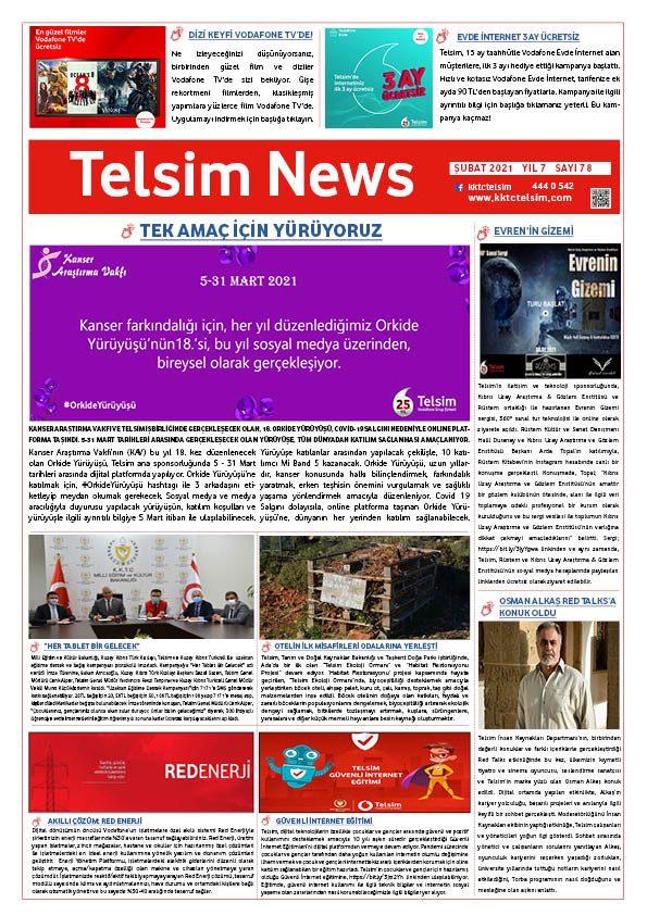 Telsim News Şubat 2021