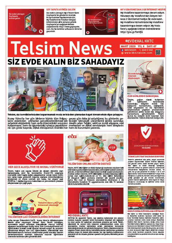 Telsim NEWS Mart 2020