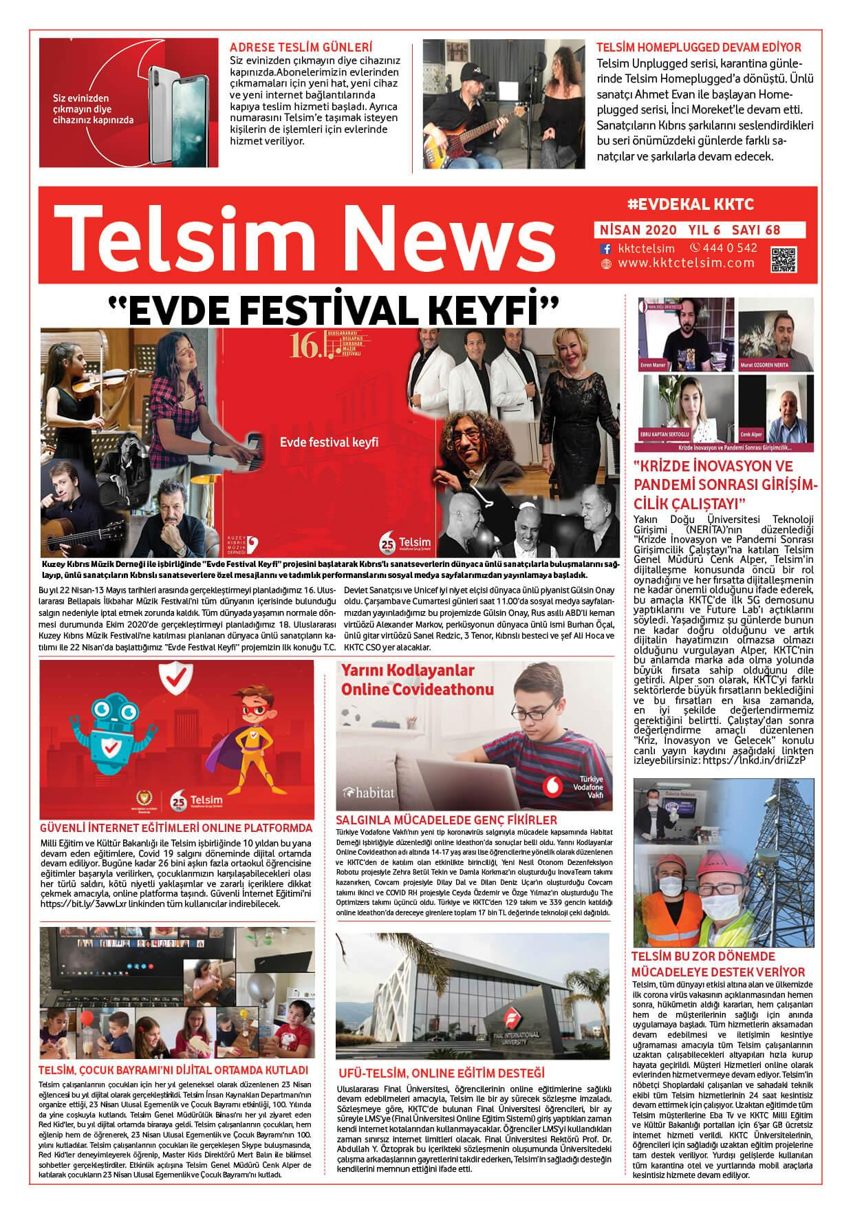 Telsim NEWS Nisan 2020