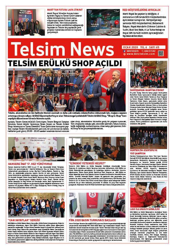 Telsim NEWS Ocak 2020