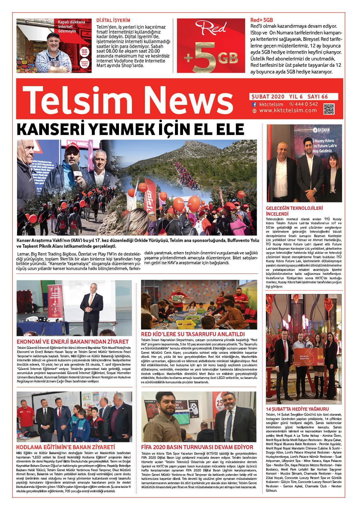 Telsim NEWS Şubat 2020