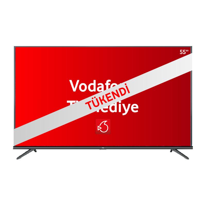 TCL 43″ 4K HDR – Android Televizyon P615 Siyah 1