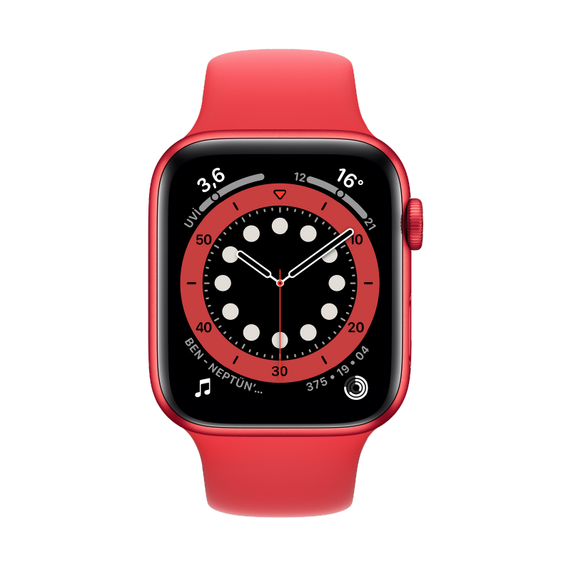 Apple Watch (44 mm) Red 1