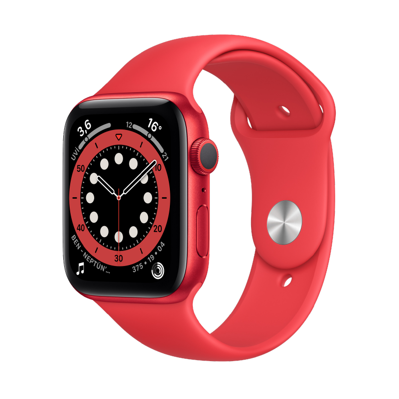 Apple Watch (44 mm) Red 2