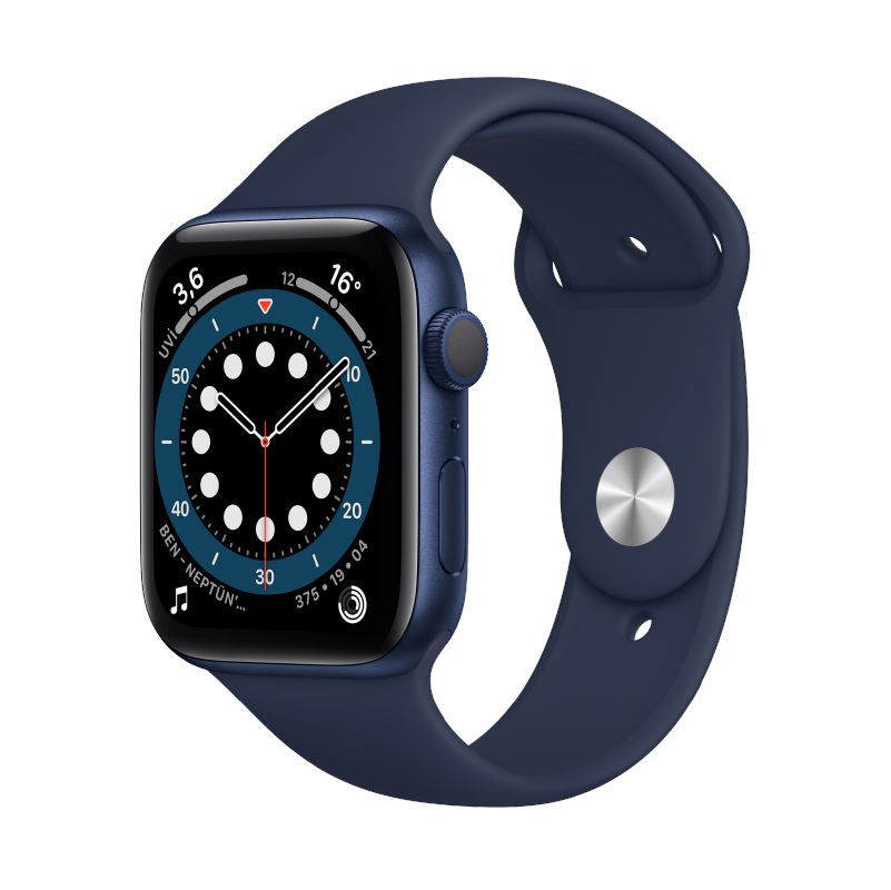Apple Watch (44 mm) Blue 2