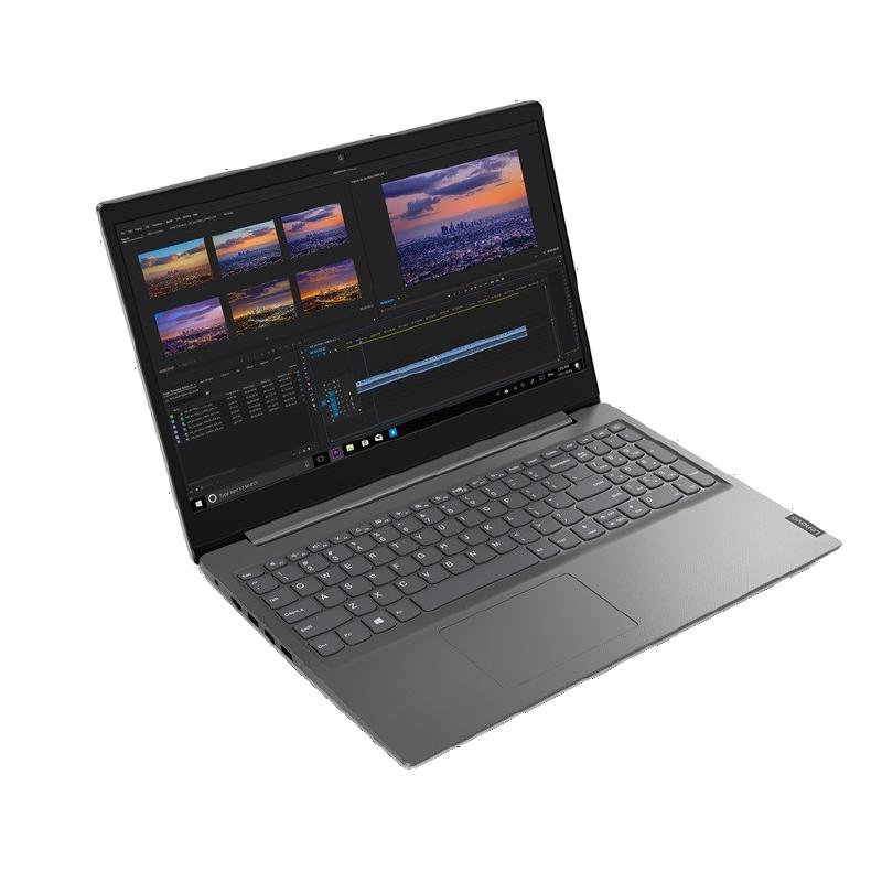 "Lenovo V15 AMD Athlon Gold 3150U 4GB 128GB SSD Freedos 15.6"" FHD Taşınabilir Bilgisayar 82C70060TX Gri 2"