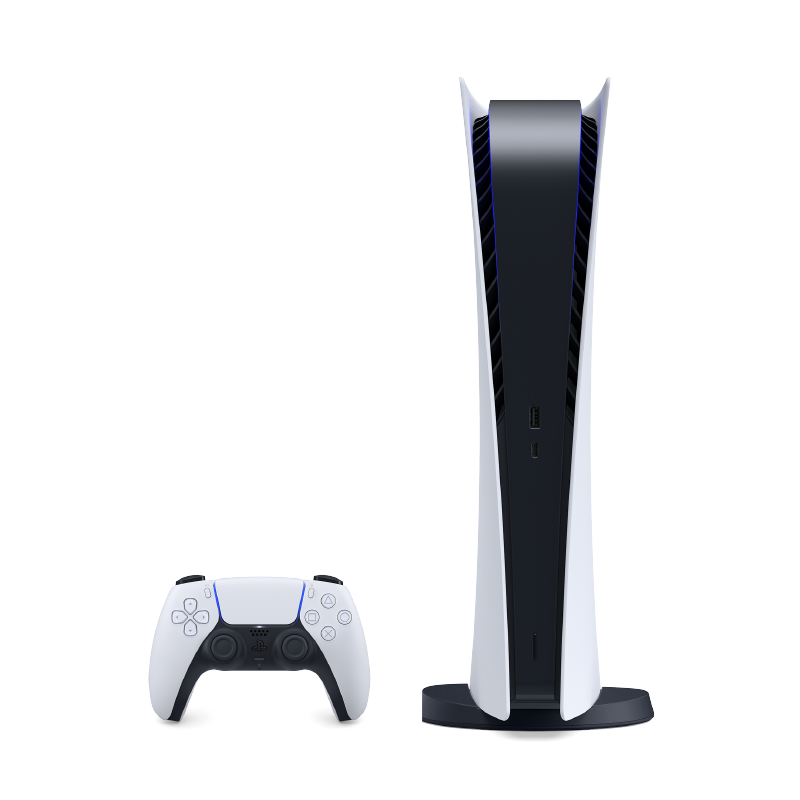 PS5  Digital Beyaz 2