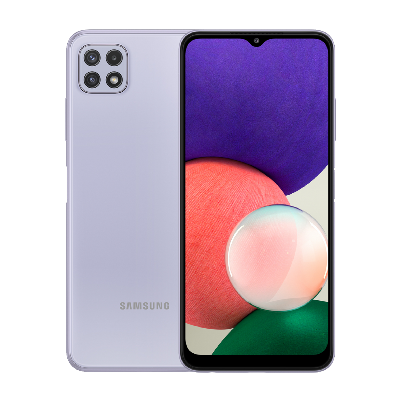 Samsung Galaxy A22 Lila 1